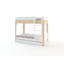 Perch Trundle bed white/birch - Oeuf NYC